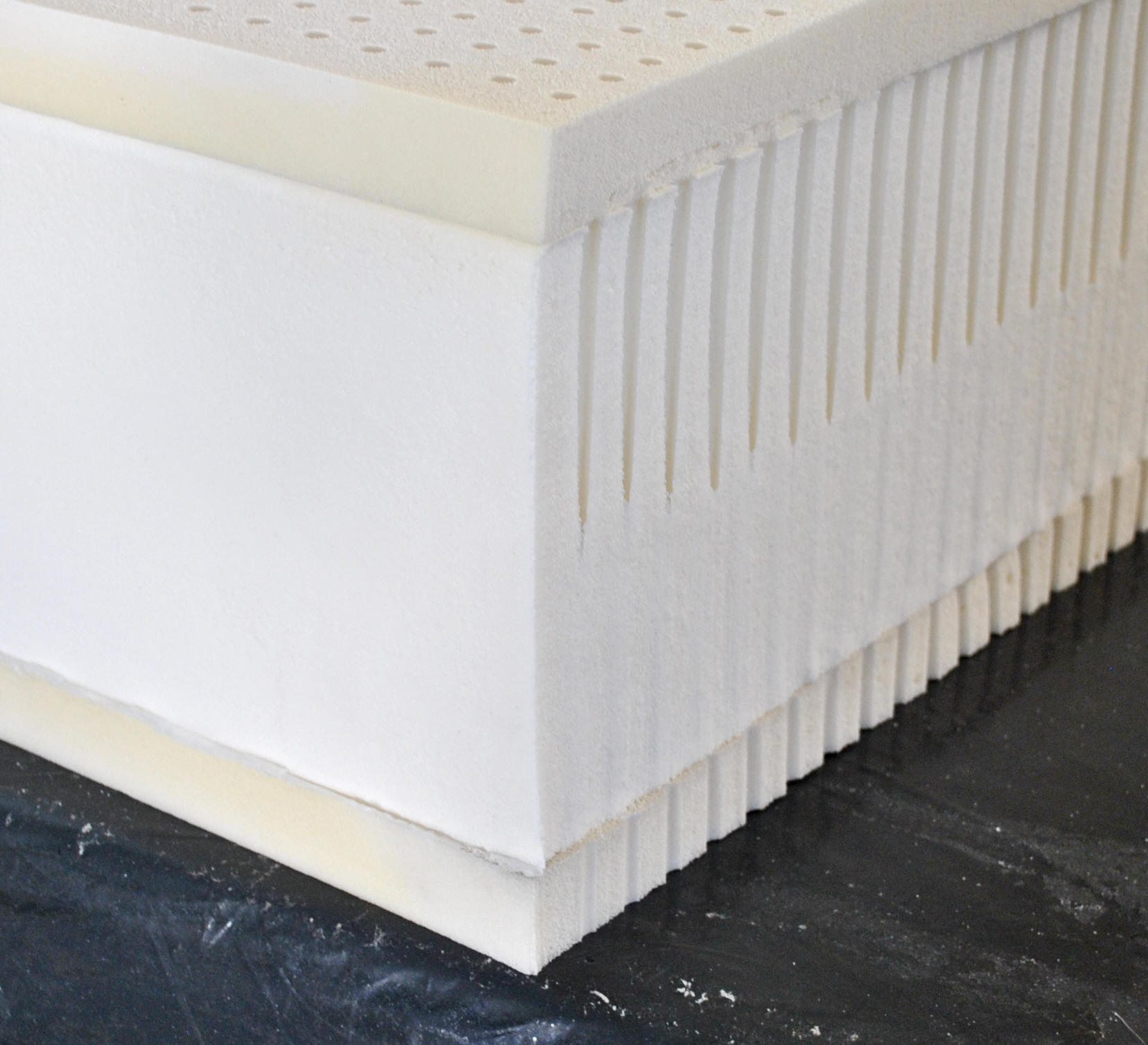 "9"" High Profile Latex Natural Mattress"
